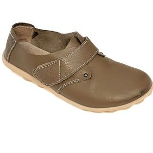 Fantiny Shoes - Fantiny Brown Soft Flexible Flats Shoes Size 9.5 M